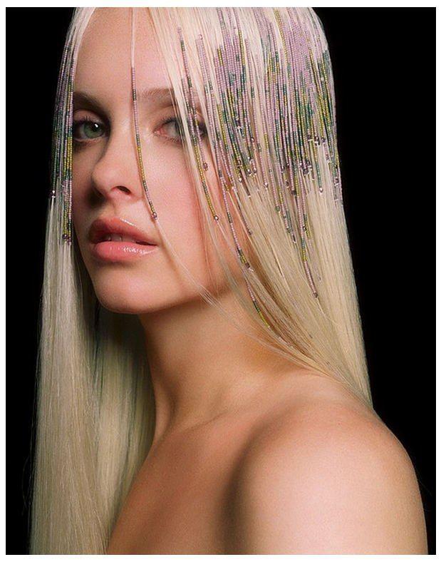 E Beading And Weaving Of Hair Hair