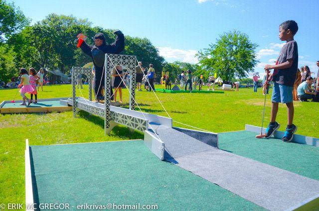 Minigolf Course 2008 - FIGMENT NYC