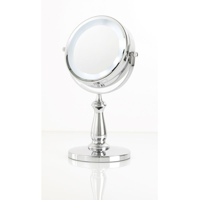 Led Vanity Makeup Mirror W 5x True Image View By Danielle