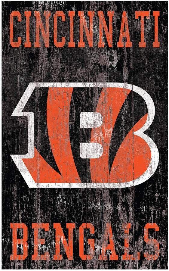 Cincinnati Bengals Logo Sign Wall Art Logo Sign Wall Signs Cincinnati Bengals