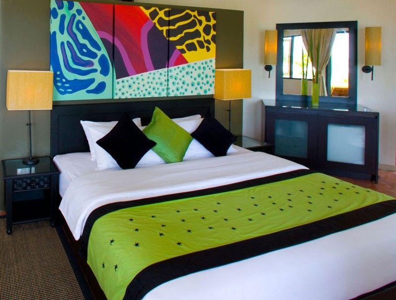 Maritimes schlafzimmer ~ Angsana velavaru maldives malediven