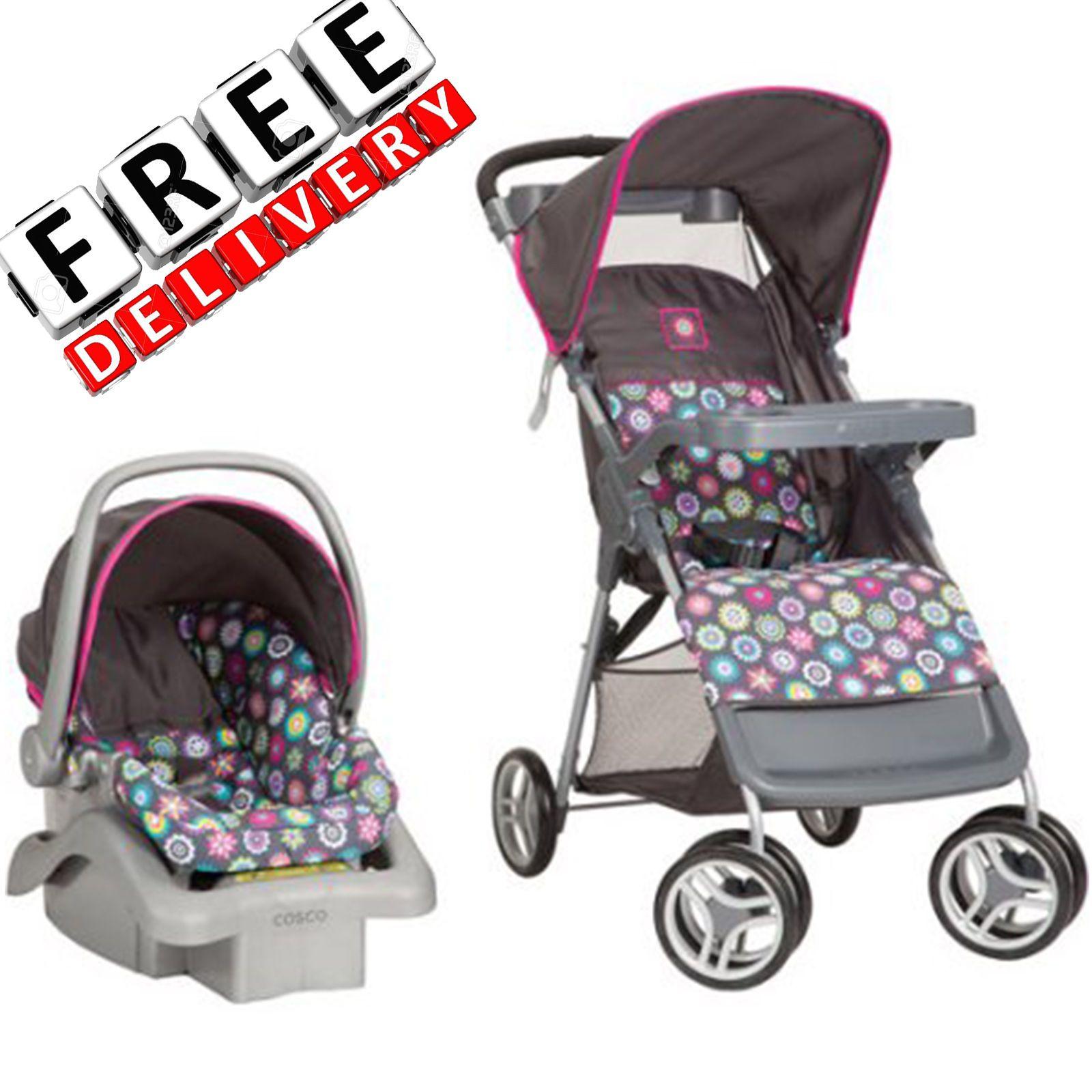 Baby Stroller Travel System Car Seat Infant Toddler Set