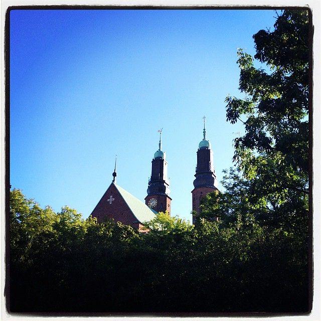 Blue skies in Sweden
