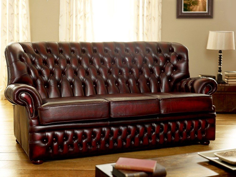 Explore Red Leather Sofas Chesterfield And More