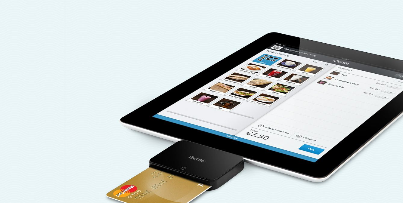 Izettle payment system swedish startup zag pinterest startups izettle card reader and ipad reheart Choice Image