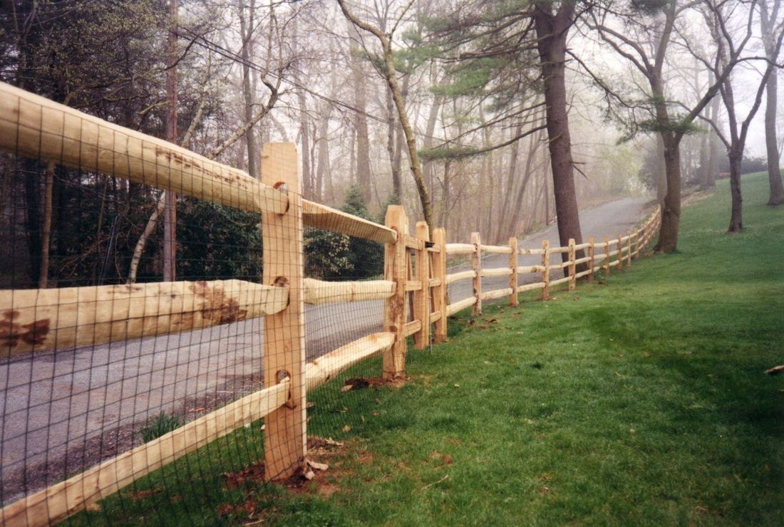 Cedar Fence Posts For Peiranos Fences Wood May Be The Most Economical Choice