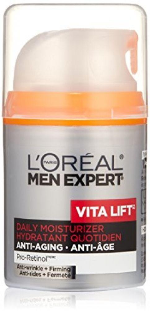 L Oreal Paris Men Expert Vita Lift Anti Wrinkle Firming Daily Facial 48ml New Lorea Face Moisturizer Anti Aging Firming Moisturizer Anti Aging Skin Products