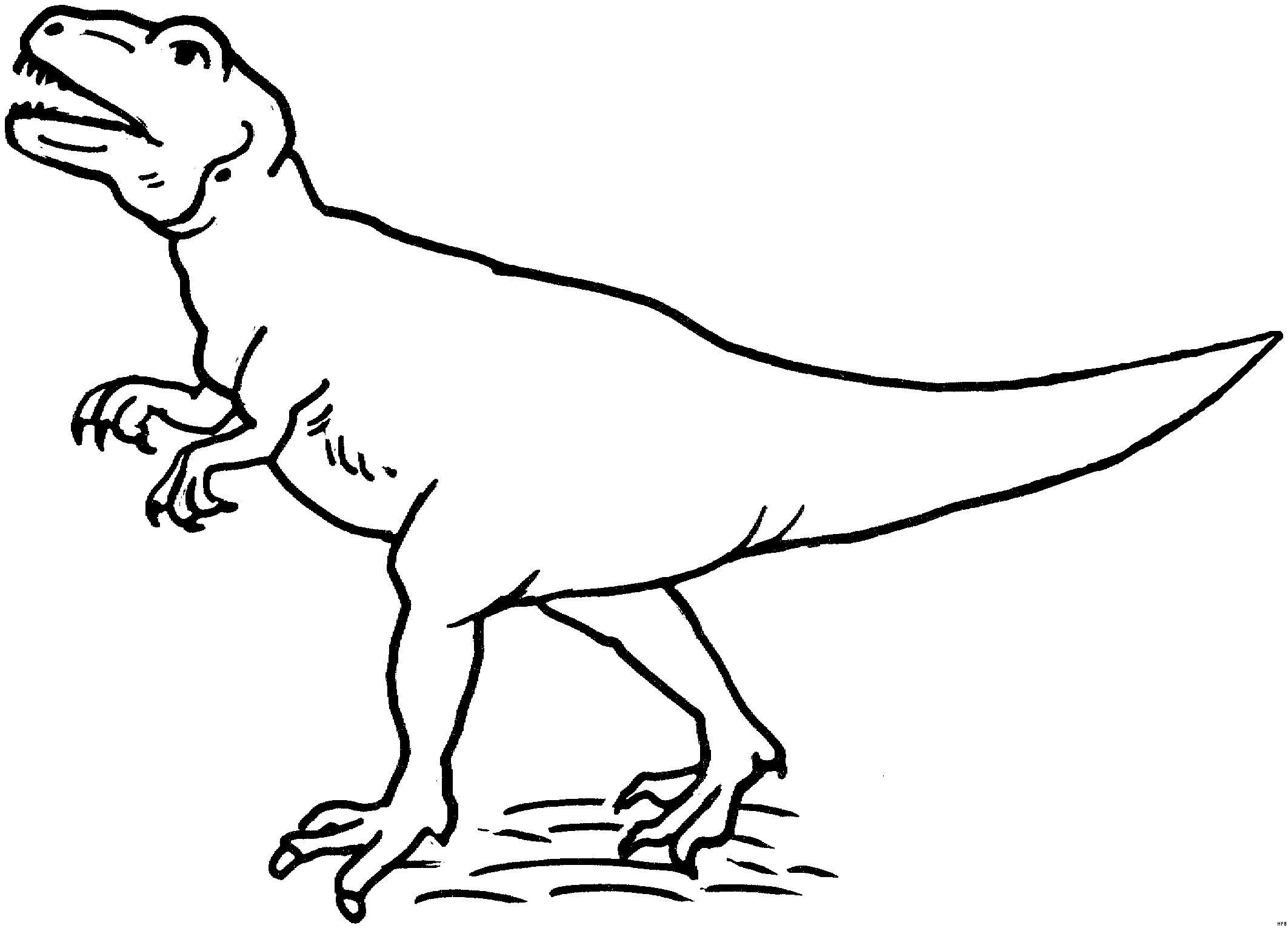 T Rex Coloring Pages Lovely Tyrannosaurus Rex Ausmalbild ...