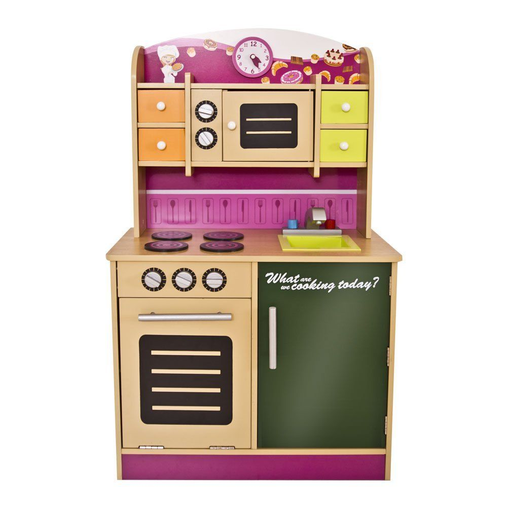 Infantastic KDK01 Child Play Kitchen pink Amazoncouk