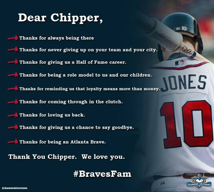 Chipper Jones.