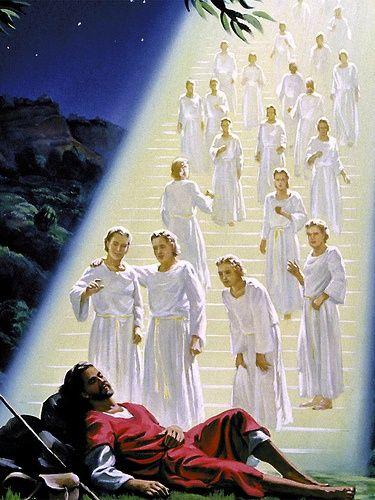 Jakob létrája - a mennybe vivő lépcső