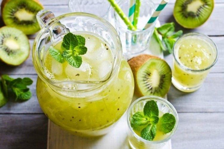 Resep Es Kiwi Lemon Yang Enak Dan Sehat Klik Gambar Dan Lihat Resepnya Di 2020 Resep Makanan Makanan Limun
