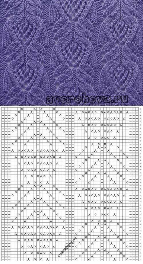 2) Одноклассники | схемы спицами | Pinterest | Patrones de tejido ...