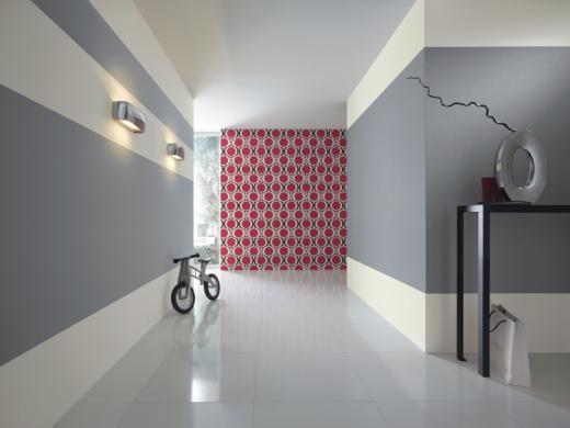 Couleur Peinture  Papier Peint New Beats De Rasch Dans Le Couloir