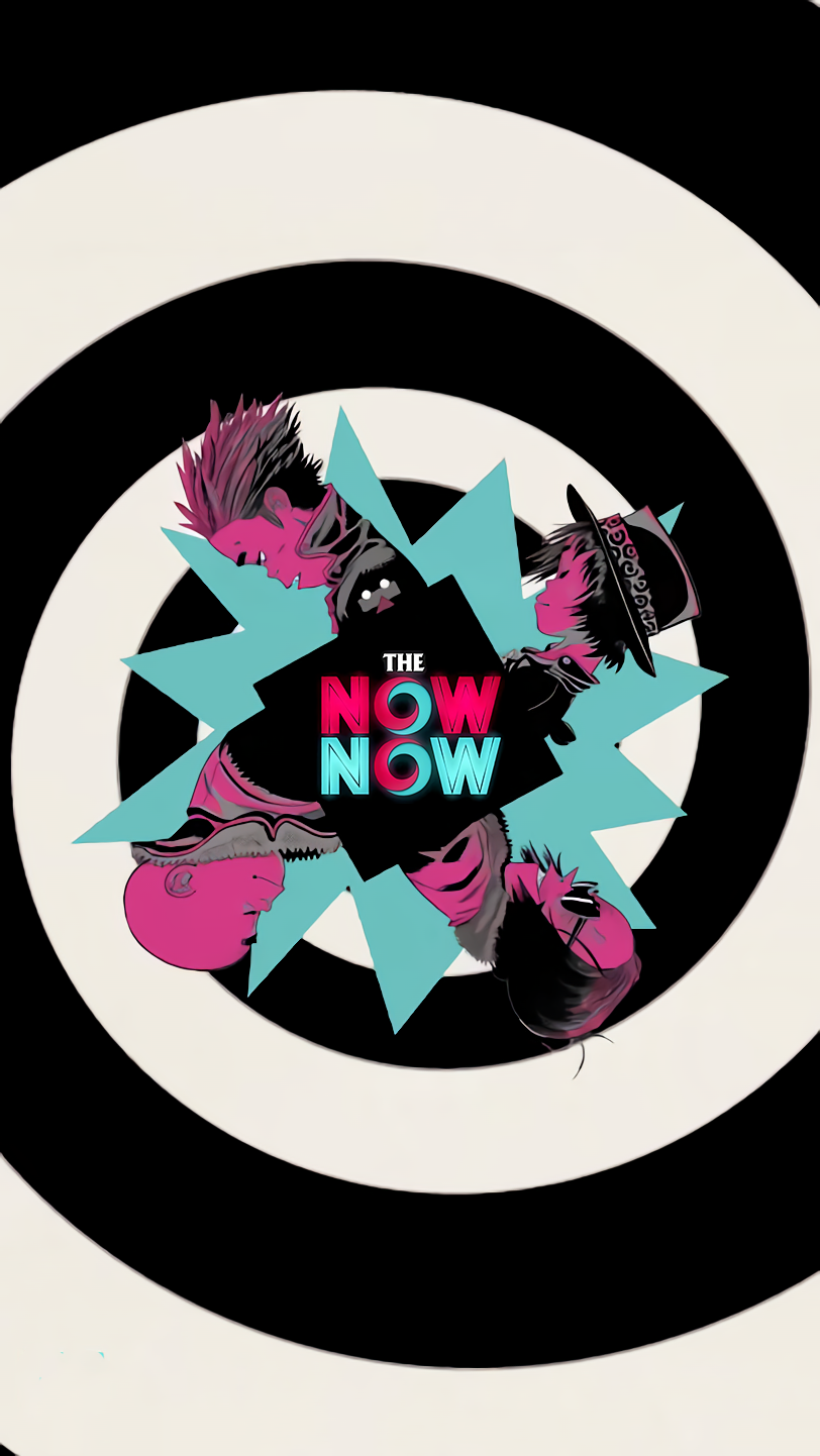 The Now Now Visualizer Phone Wallpapers Gorillaz art
