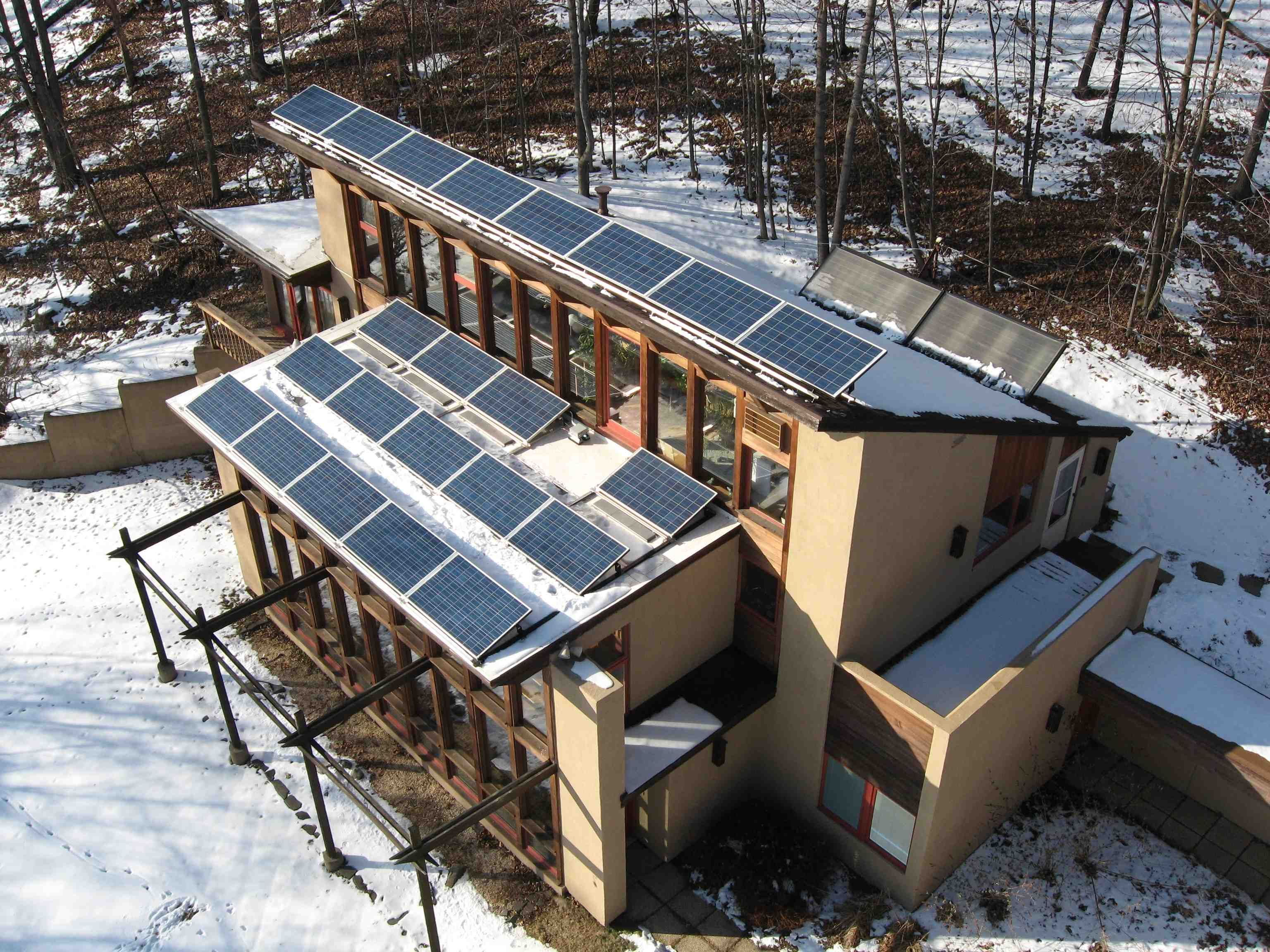 Case Study: Solar Space Heating in action - Lafayette, NJ - Two ...