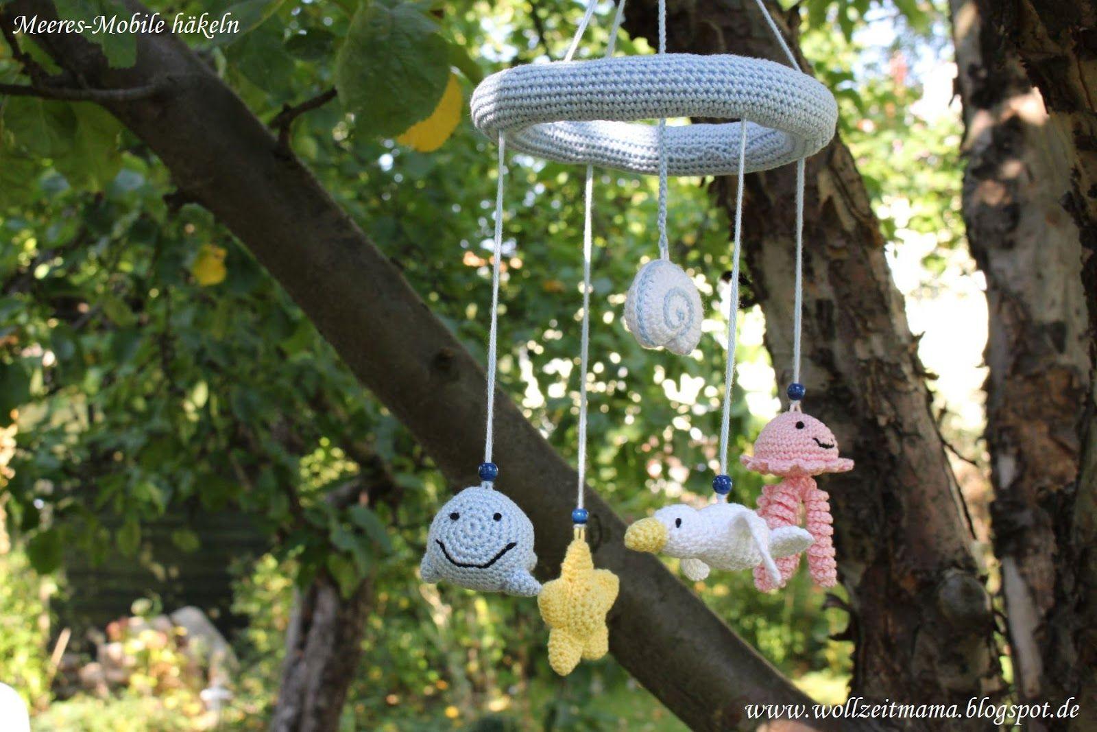 Häkeln Für Kinder Mobile Mit Meerestieren Amigurumi