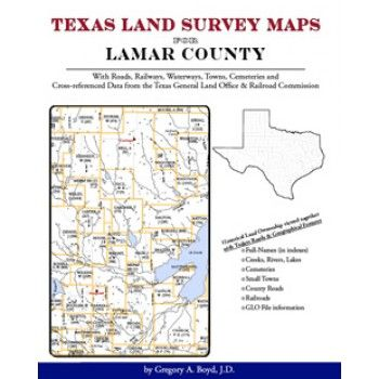 Lamar County Texas Texas Land Survey Maps For Lamar