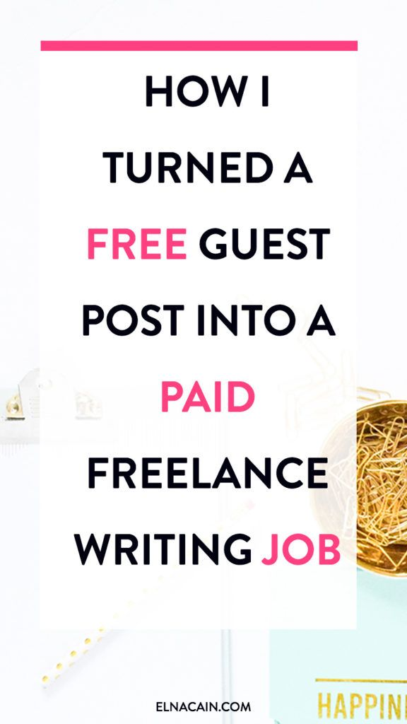 i turned a guest post into a paid lance writing job how i turned a guest post into a paid lance writing job