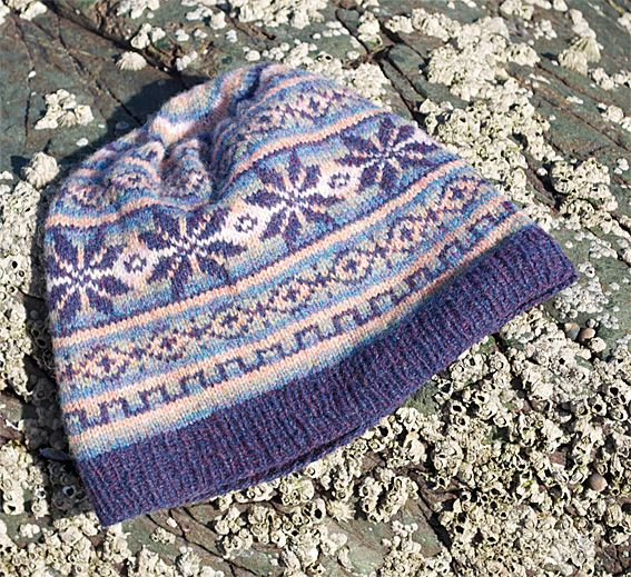 Slouchy Fair Isle Hat Fair Isles Fair Isle Knitting And Knit Hats