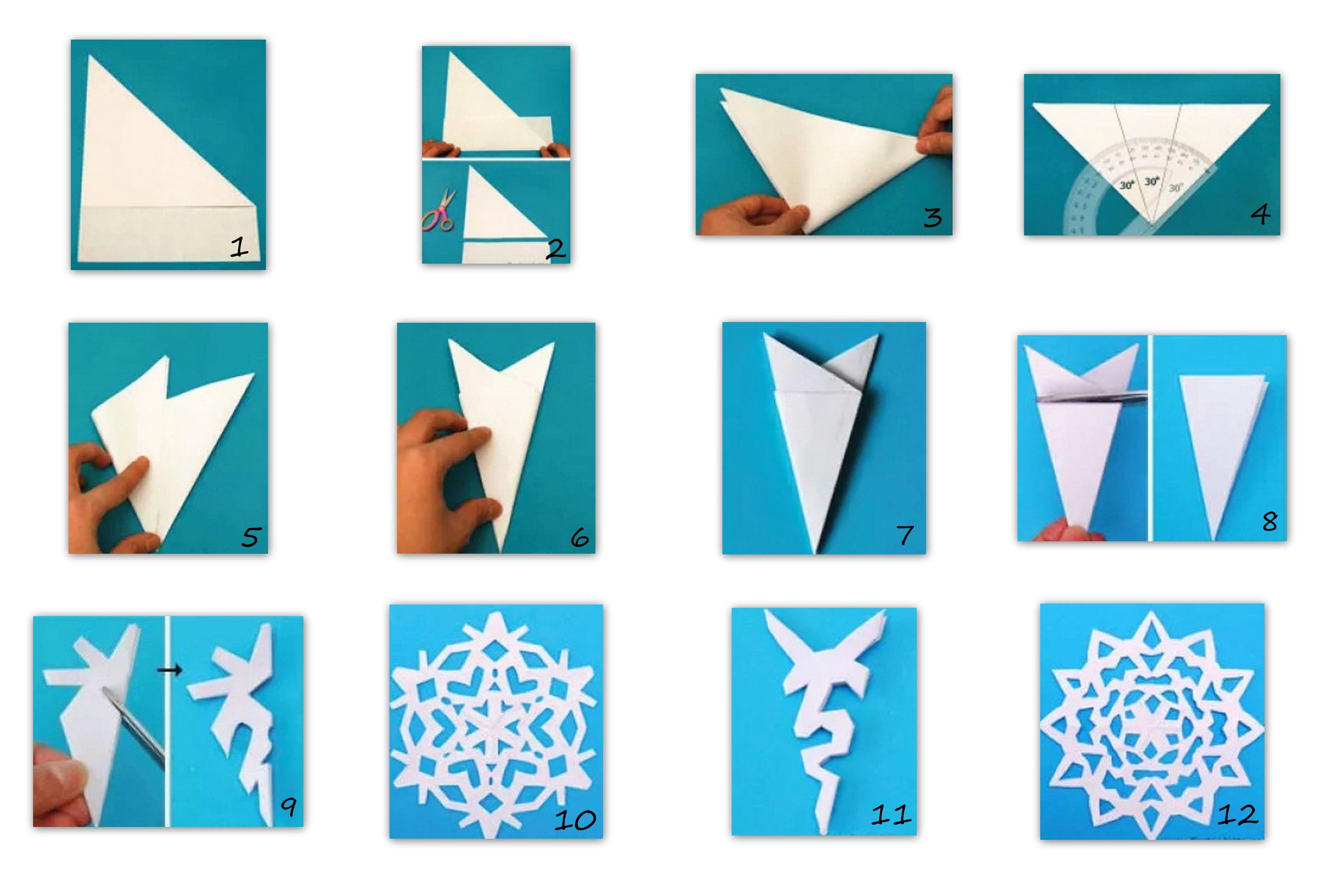 Pin by Smilja Todorovic on Pahulje od papira Pinterest