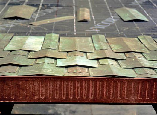 Creating The Poetry House Copper Roof Green Roof Roofing