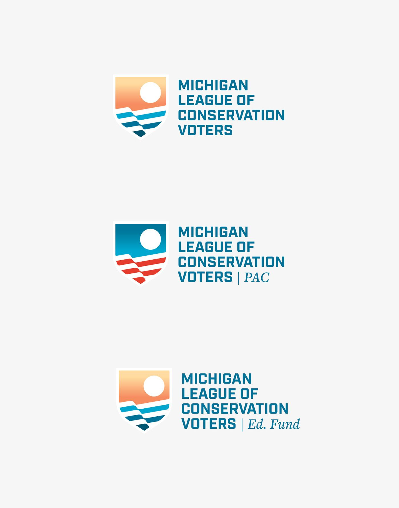 Michigan League of Conservation Voters branding