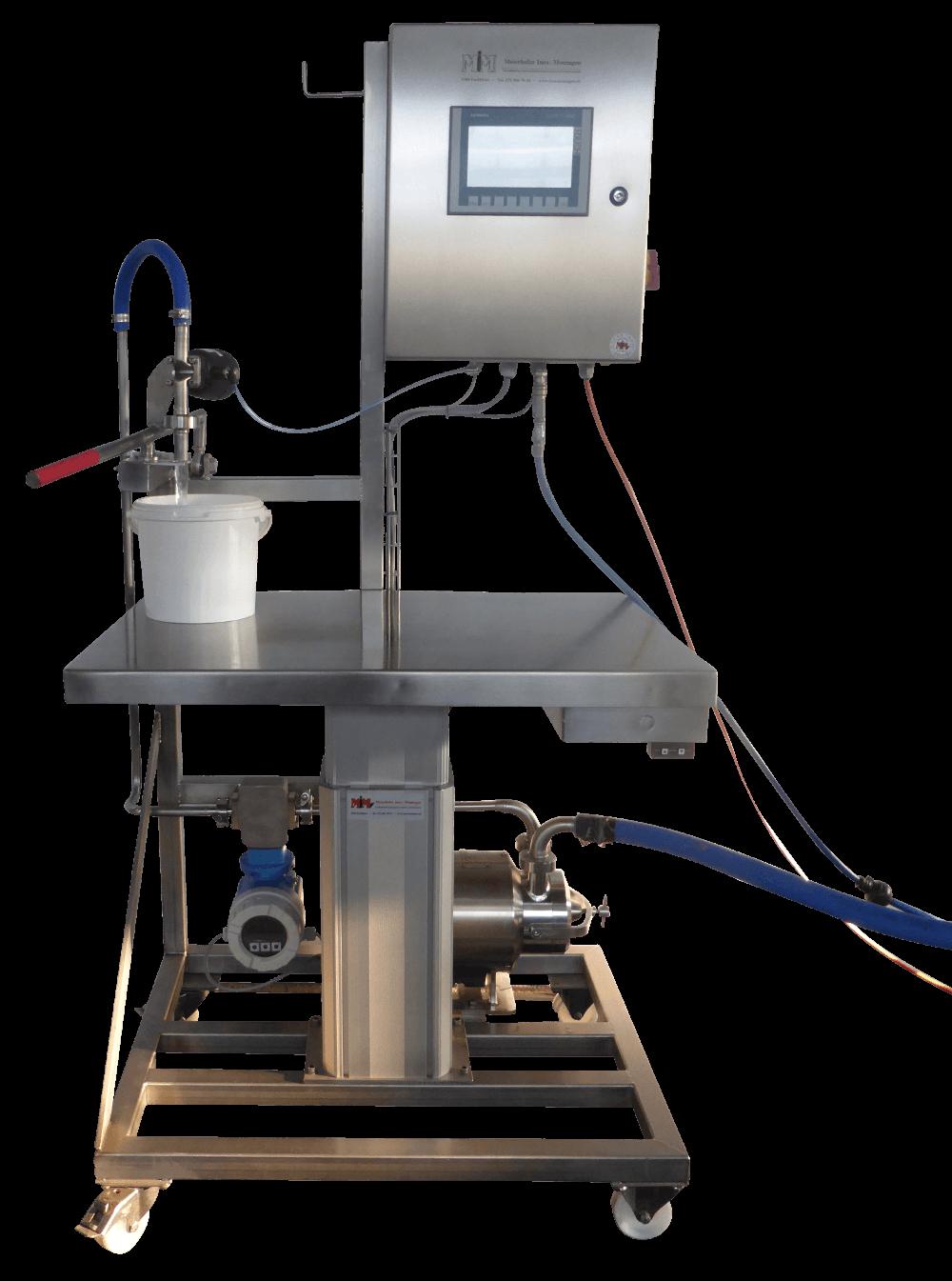B500 Gebindefüller Abfüllmaschinen erhältlich von manuell bis ...