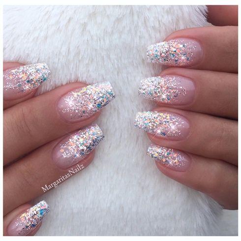 Nails Acrylicnails Nails2019 Summernails Neonnails Gelnails Nailart Stilettonailsdesig Ombre Nails Glitter Wedding Nail Art Design Nail Designs Glitter