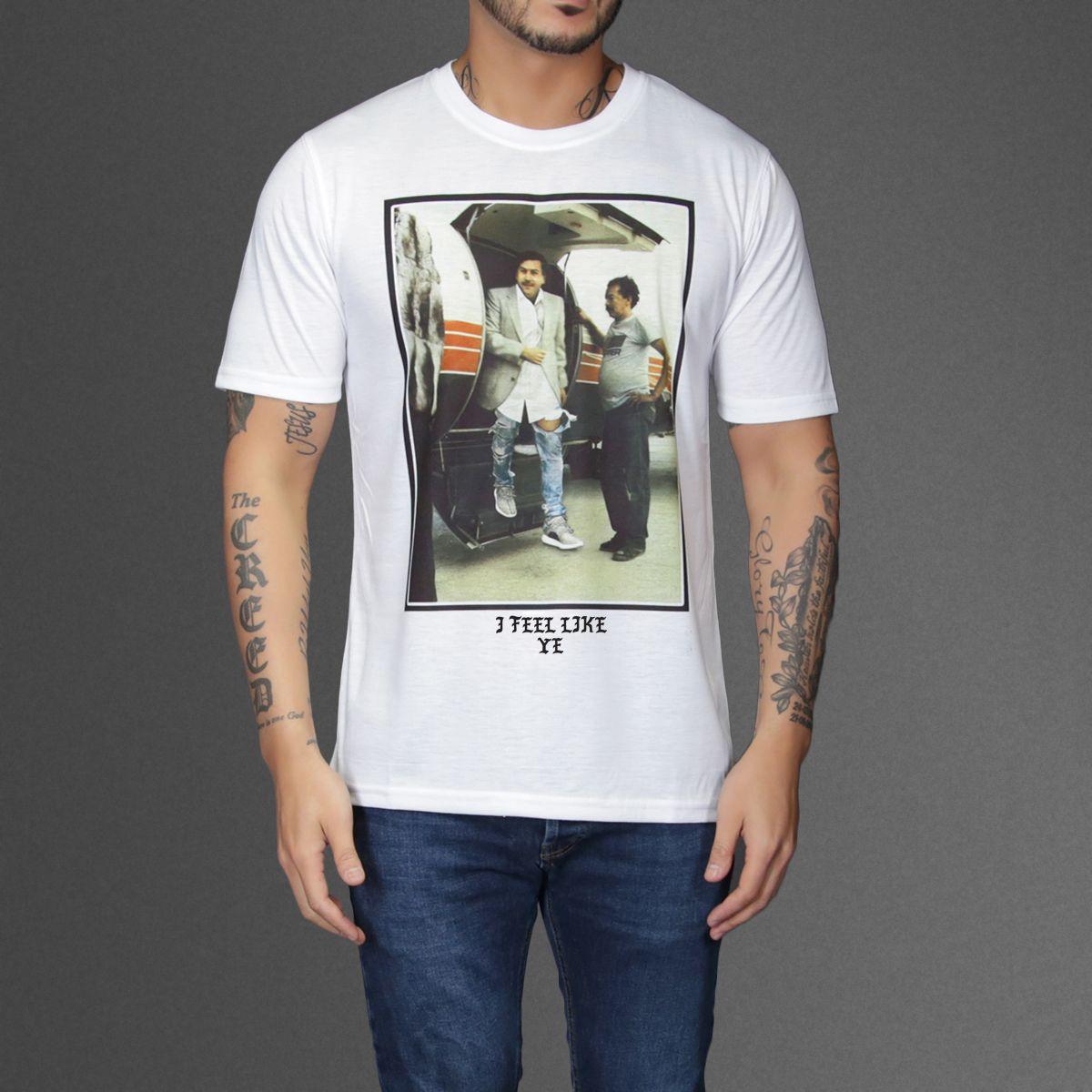 80b037ed9 I feel Like Ye - Pablo Escobar T-Shirt | SHIRT SAUCE | Pablo escobar ...