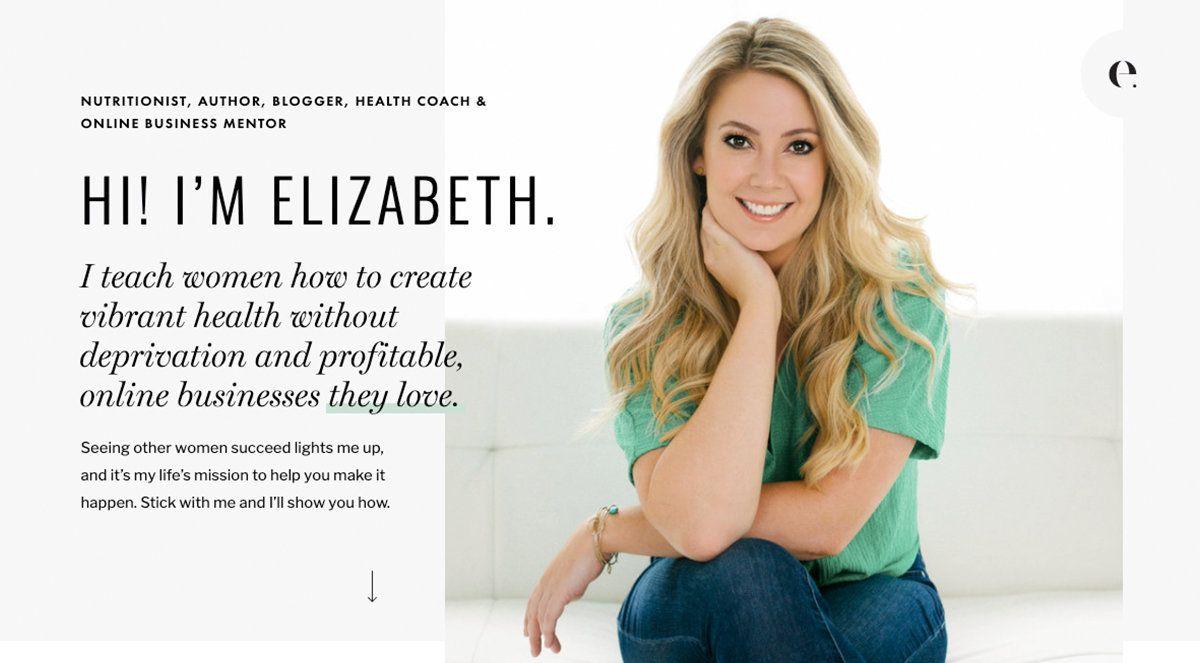 Meet elizabeth business mentor leadership inspiration