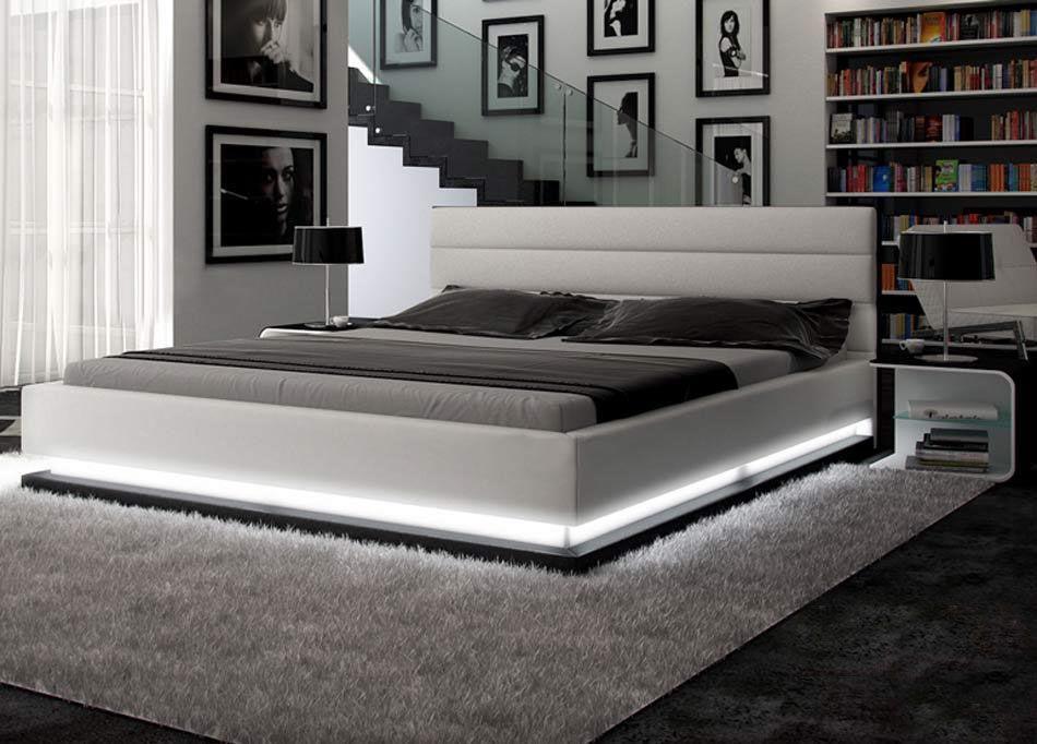 Exquisite Leather Luxury Platform Bed Modern Platform Bed Bed