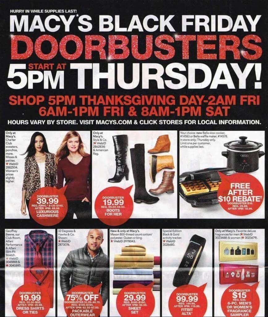 Macy S Black Friday Doorbusters Live Online Now Via Passion4savings Macysdeals Macys Black Friday Black Friday Doorbusters Black Friday Ads