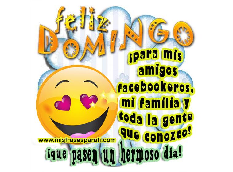 Feliz Domingo Para Mis Amigos Facebookeros