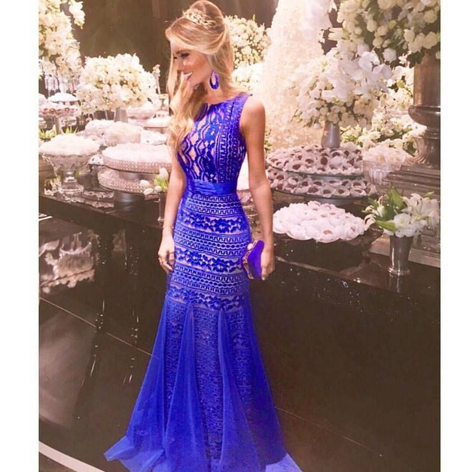 vestido de festa | vestidos | Pinterest | Vestiditos, Vestido de ...
