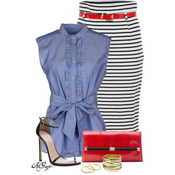 """""""Summer Style"""" by kginger on Polyvore"""