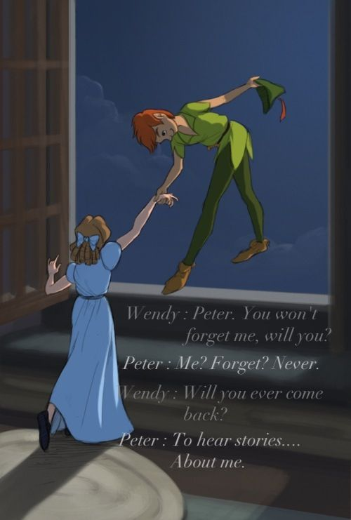 Peterpan Wendy All The Fairy Tales Peter Pan Peter Pan Disney