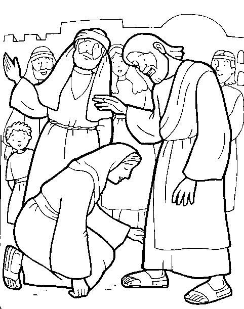 Milagres77 Jpg 482 611 Sunday School Coloring Pages Miracles