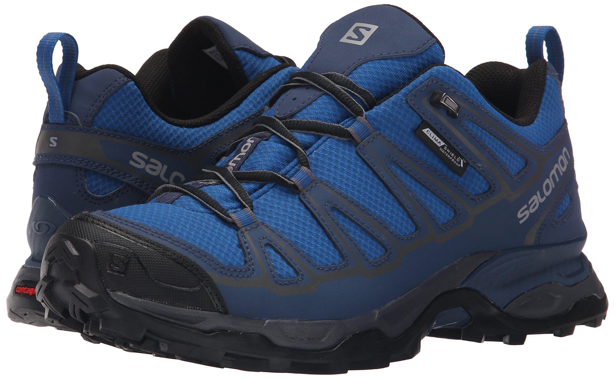 Salomon Mens X Ultra Prime CS Waterproof Athletic Shoe