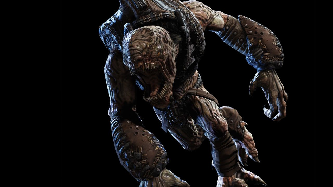 Gears Of War Wretch Farther Of Monsters Gears Of War Gears Of