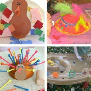Thanksgiving Crafts for Toddlers #thanksgivingcraftsfortoddlers thanksgiving crafts for toddlers