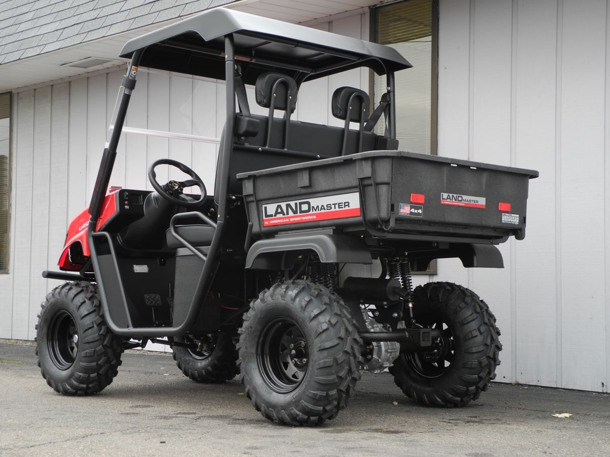 this brand new briggs stratton powered 479cc american made 4x4 landmaster lm500 side by side. Black Bedroom Furniture Sets. Home Design Ideas
