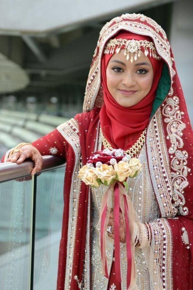 Beautiful Hijab Brides From Real Weddings Mine Forever Wedding