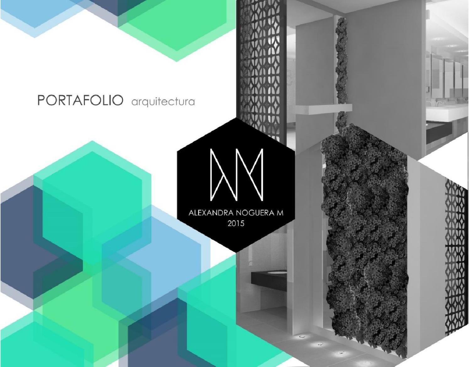 Portafolio arquitectura alexandra noguera portafolios for Arquitectura de interiores pdf