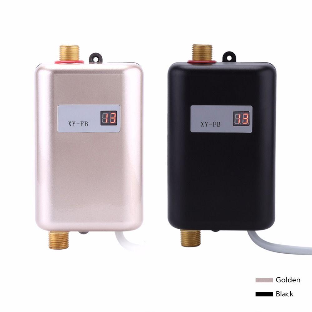 3400 W Mini Instant Verwarming Boiler Tankless Elektrische Kraan ...