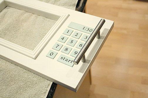 ikea hack play kitchen fridge and microwave diy for sophie k che k che pimpen ikea k che. Black Bedroom Furniture Sets. Home Design Ideas