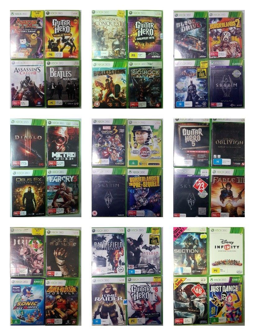 Xbox 360 titles en masse 2 Bioshock, Xbox 360, Kinect