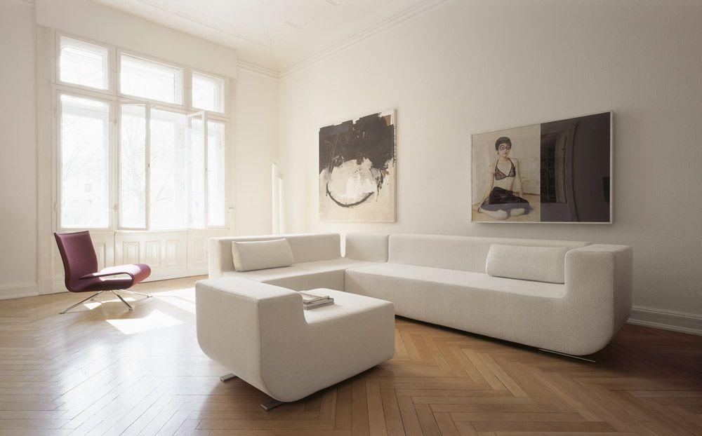 NUBA sofa by VERTIJET design studio for COR | SOFAS | Pinterest