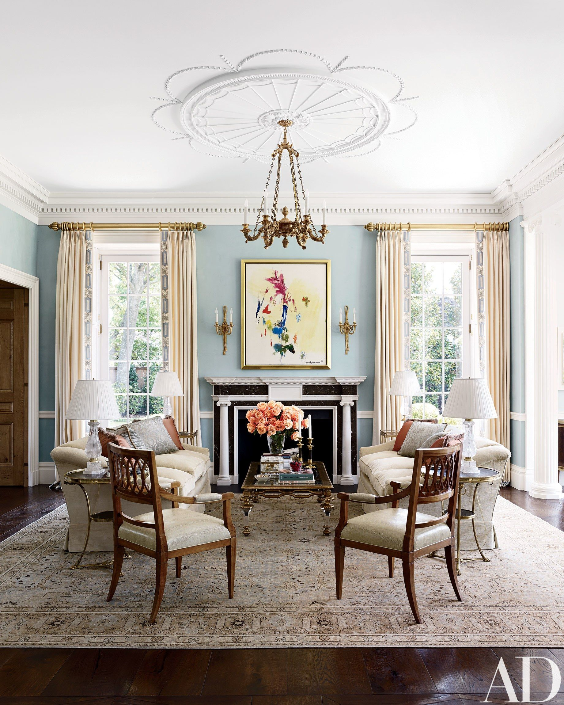 Allan Greenberg And Elissa Cullman Design A Federalstyle Mansion Delectable Mansion Dining Rooms Decorating Inspiration