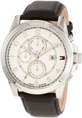 Tommy Hilfiger  Mens 1710294 Classic Brown Sub dial  Watch Tommy Hilfiger,http://www.amazon.com/dp/B005OT7MBM/ref=cm_sw_r_pi_dp_1hXLrb50B09849A0